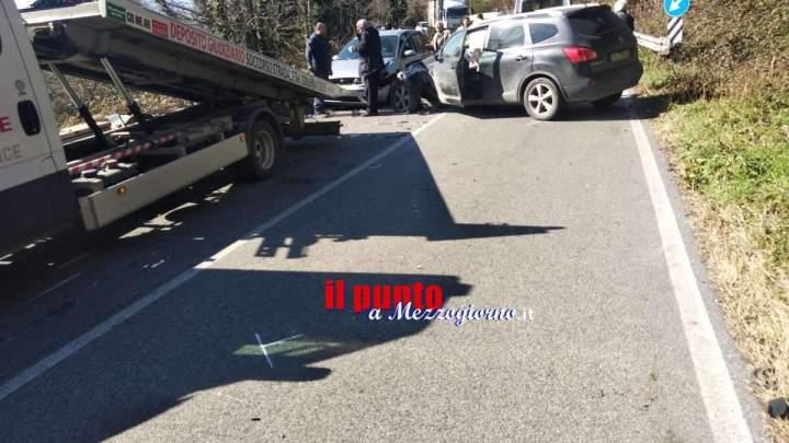 Incidente sulla via dei Laghi a Velletri, feriti e strada chiusa per due ore