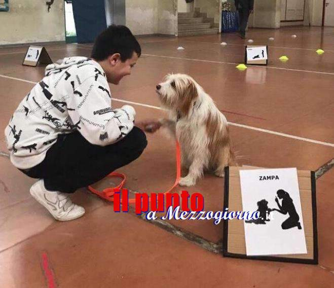 La pet therapy all'istituto comprensivo Egnazio Danti di Alatri