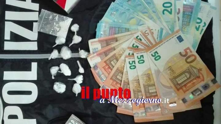 Cassino, il fiuto di Enduro porta alla cocaina. Arrestato 42enne