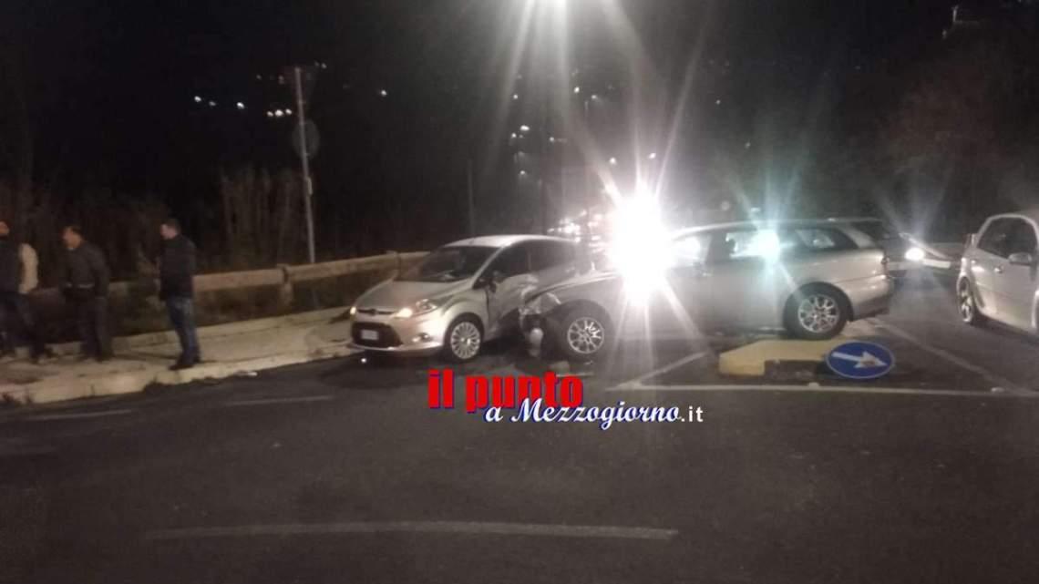 Due incidenti stradali in poche ore a Velletri, un ferito e due bimbe spaventate