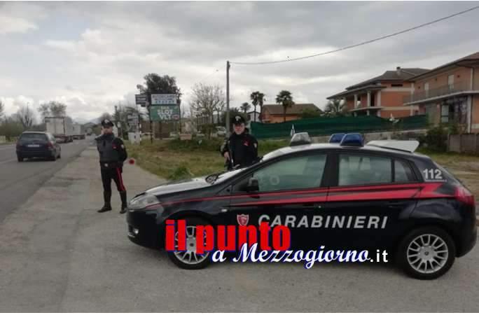 Ubriaco, si scaglia contro i carabinieri ad Ausonia ma viene arrestato
