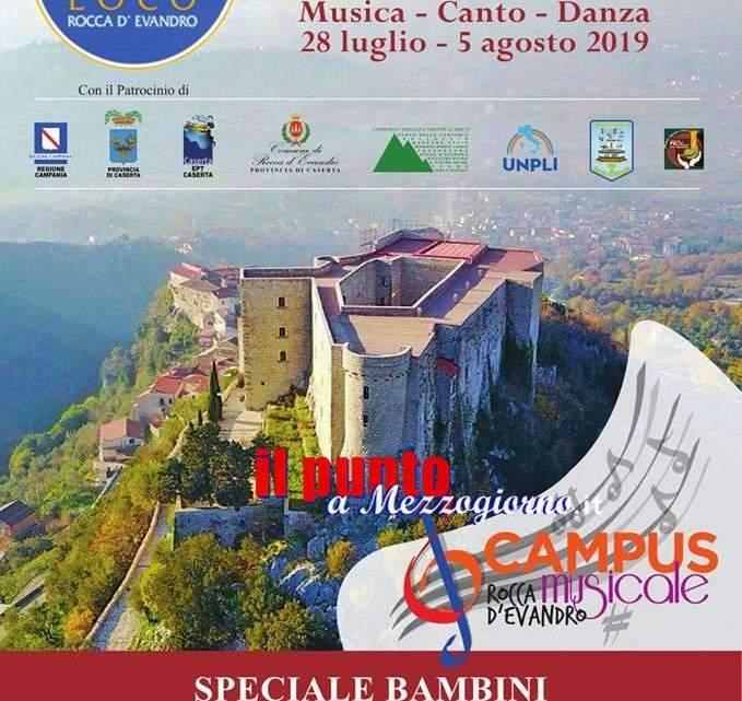 A Rocca D'Evandro musicisti della Scala di Milano per la seconda edizione del Campus Musicale
