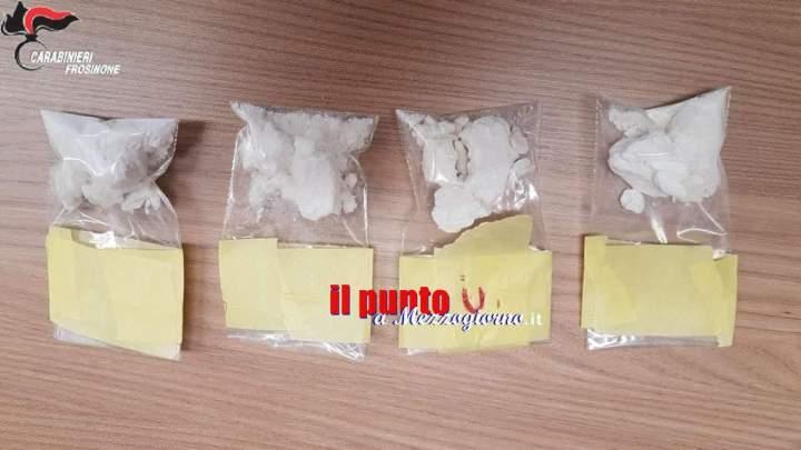 L'autoclave della cocaina nel quartiere San Bartolomeo di Cassino, trovati 43 grammi di droga