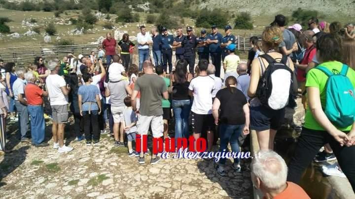 Polizia provinciale e carabinieri Forestali liberano rapaci, ricci e tartarughe a Prato di Campoli