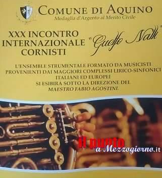 """Aquino, Concerto internazionale di cornisti """"Guelfo Nalli"""""""
