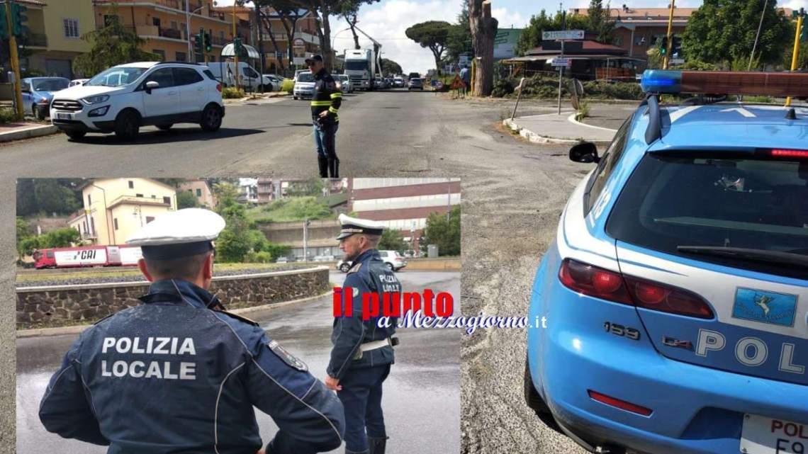 Ai Castelli è boom di auto senza assicurazioni, 28 in un mese solo a Velletri