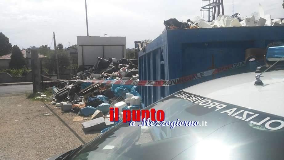 Discarica di rifiuti pericolosi sequestrata a Frosinone