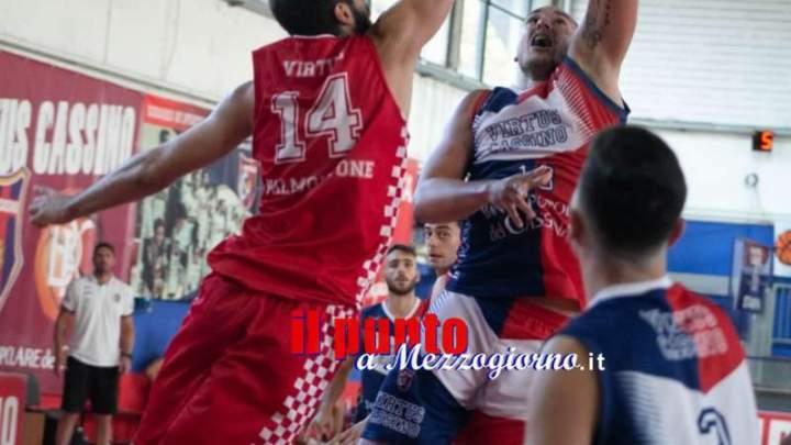 La Virtus Cassino chiude in bellezza la pre-stagione, battuto ancora Valmontone 93-91
