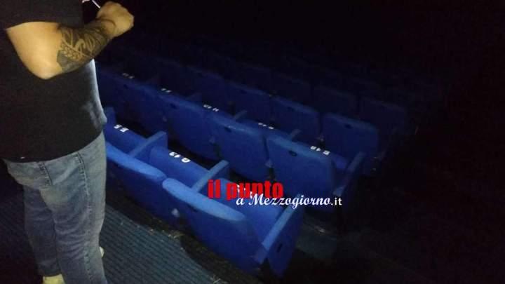 Nubifragio su Velletri, allagato ed evacuato il cinema multisala