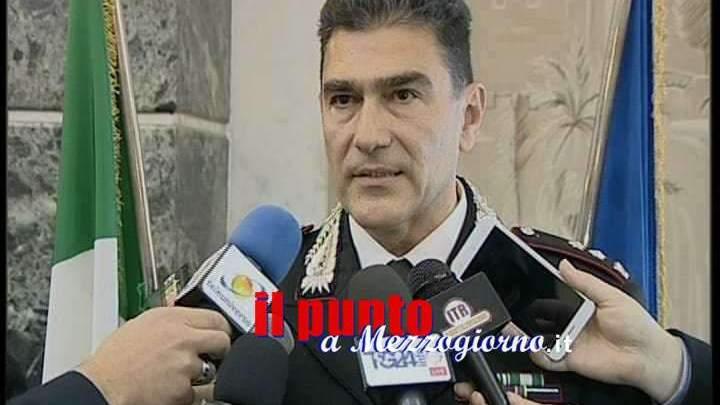 Il colonnello Lopez passa dal comando del Gruppo Forestali Frosinone al Gruppo Forestali Roma