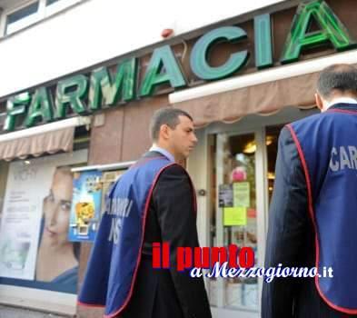 Farmacie di Frosinone e Latina sotto la lente del Nas dei carabinieri, rilevate violazioni amministrative e penali