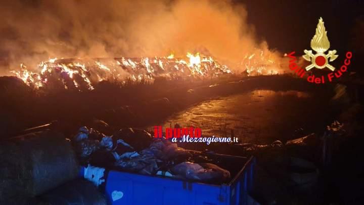 Latina: fulmine scatena incendio in un fienile con porcilaia, pompieri salvano decine di maiali