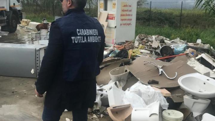 Cellole – Carabinieri del Noe sequestrano isola ecologica, denunciate due persone e sequestri per 400mila euro