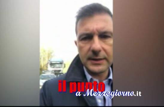Rifiuti da Roma, il sindaco di Roccasecca (video): partono i controlli sui camion che entrano in discarica