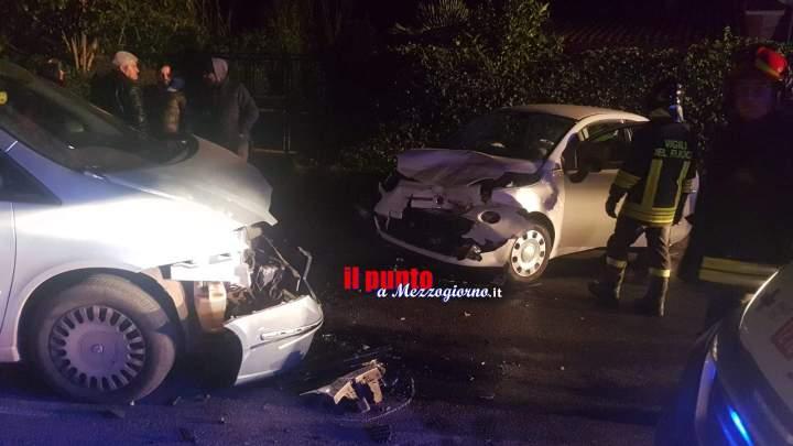 Incidente stradale sulla via Ariana a Velletri, tre feriti