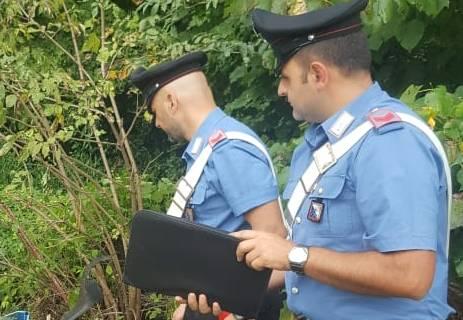 Arrestato per incendio colposo un 54enne di Esperia, sorpreso dai carabinieri ad incendiare sterpaglie