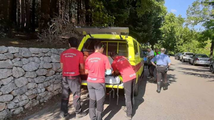 Si perdono sul sentiero sui Monti Ernici, recuperati quattro escursioni dal Soccorso Alpino