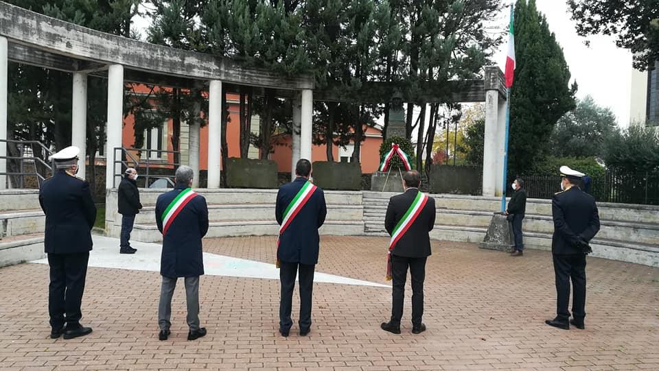 4 novembre, cerimonie raccolte nel rispetto delle misure anti Covid-19 a Sora