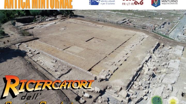 """MEETmeTONIGHT – """"Ricercatori dell'Appia perduta""""  Il team di Antica Minturnae partecipa alla Notte Europea dei Ricercatori 2020"""