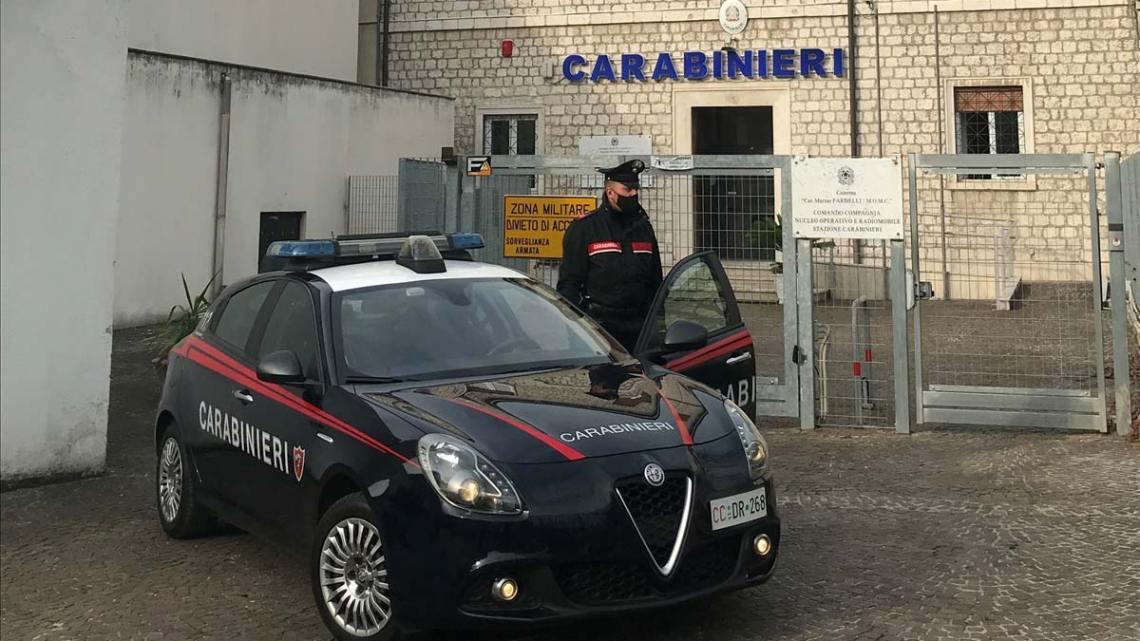 Controlli anticovid dei carabinieri, multe a Cassino, Cervaro e Roccasecca