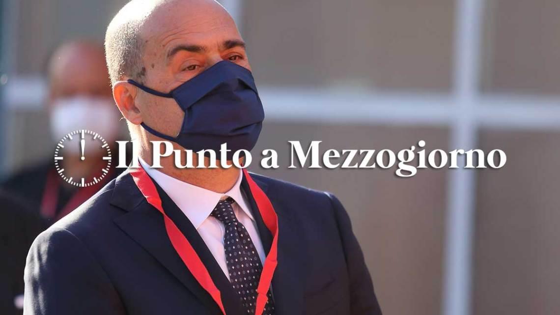 """Covid, Zingaretti: """"Da lunedì giallo, risultato della comunità"""""""