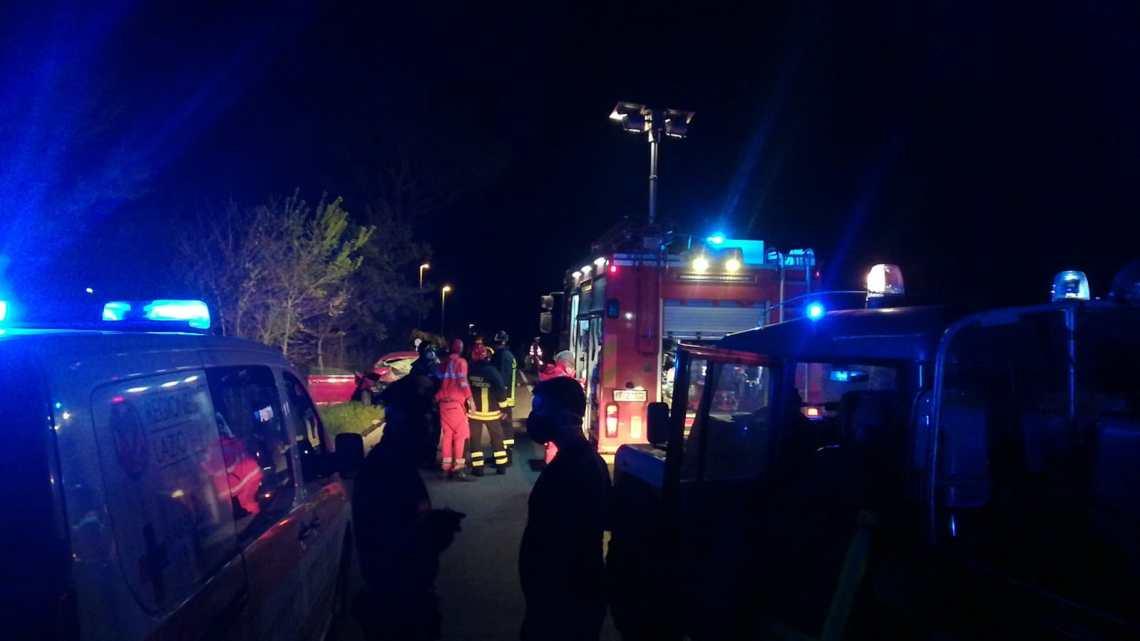 Incidente stradale drammatico a San Vittore, si contano vittime