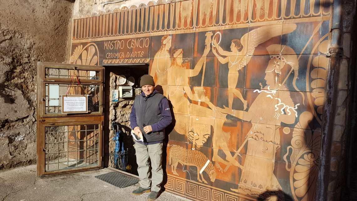 Viterbo: manufatti in terracotta come nel 500 a.C., Mastro Cencio e le tradizioni Falisce