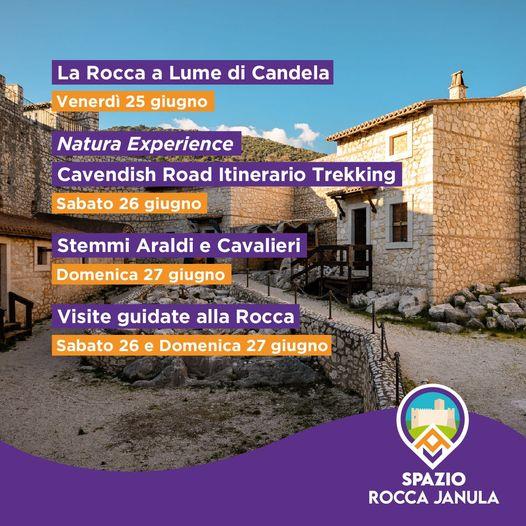 Ultimo weekend di Giugno di anteprime culturali alla Rocca Janula