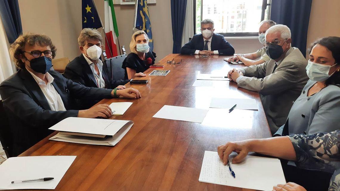 Cassino – L'ambasciatrice polacca Anders in Comune per progetto Centro Studi Internazionali