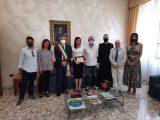 Cassino – La dottoressa Pontone riceve una targa in Comune