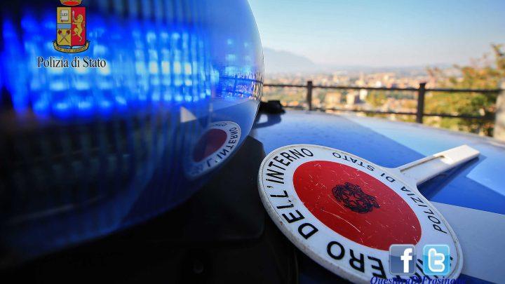 Frosinone – Uomo tenta il suicidio: salvato dalla Polizia