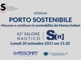 Porto sostenibile: misurare e certificare le performance, oggi l'evento webinar