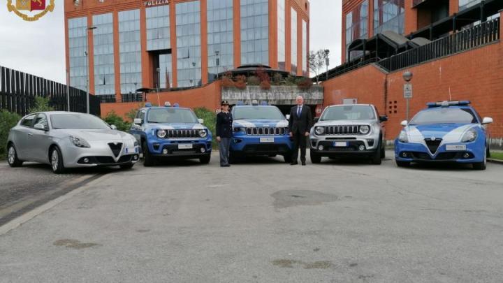 Nuove autovetture per i commissariato di Cassino Sora e Fiuggi