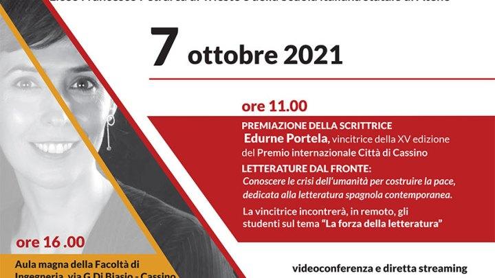 Premiazione della XV edizione del Premio internazionale Città di Cassino Letterature dal Fronte