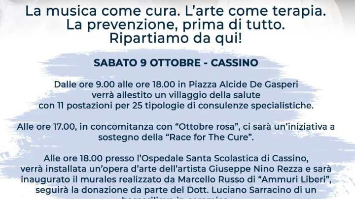 """""""Per dirvi grazie"""", anche i Modena City Ramblers alla festa per i sanitari di Cassino"""