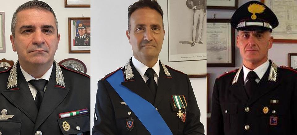 Cambio al vertice dei carabinieri di Pontecorvo e Sora
