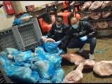 Parma – Sequestrate oltre 20 tonnellate di cosce di suino in cattivo stato di conservazione