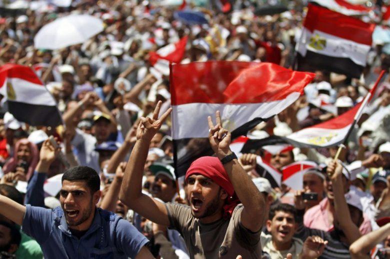 Manifestazioni in Egitto durante la Primavera Araba