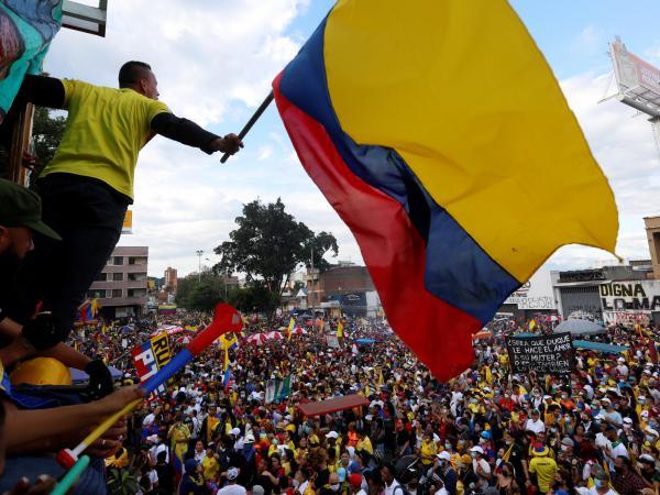 Sventola la bandiera colombiana