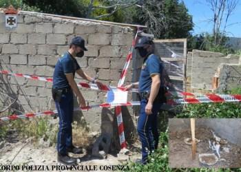 Polizia Provinciale CS - Sequestro S.G.Fiore
