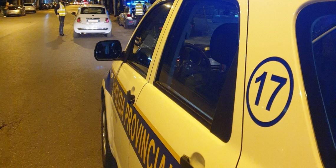 Controlli notturni della Polizia Provinciale (immagine di repertorio)