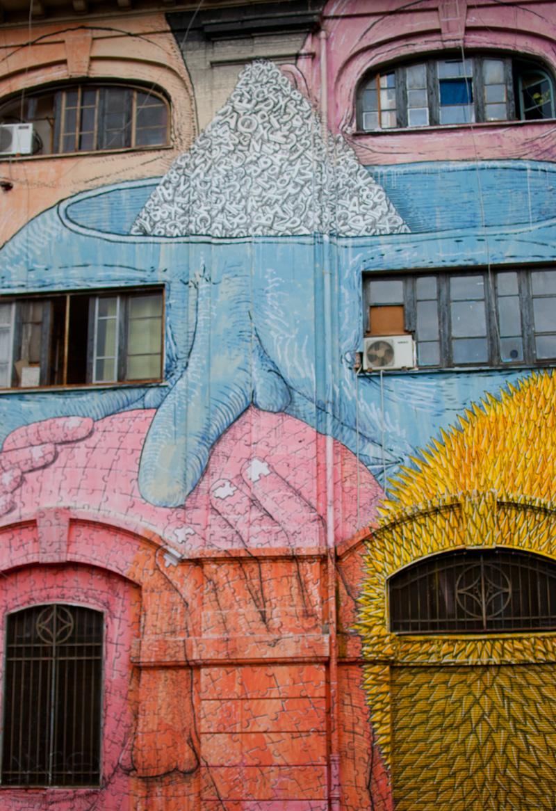 La street art di Blu a Roma