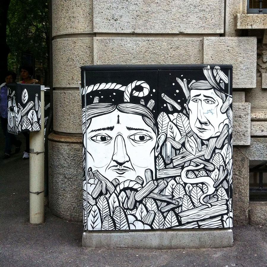 Energy Box a Milano: Seacreative in via Ricasoli