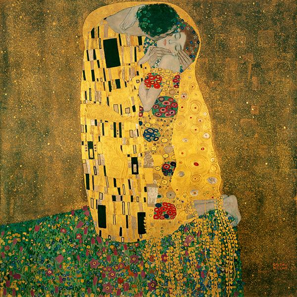 Gustav Klimt - Bacio
