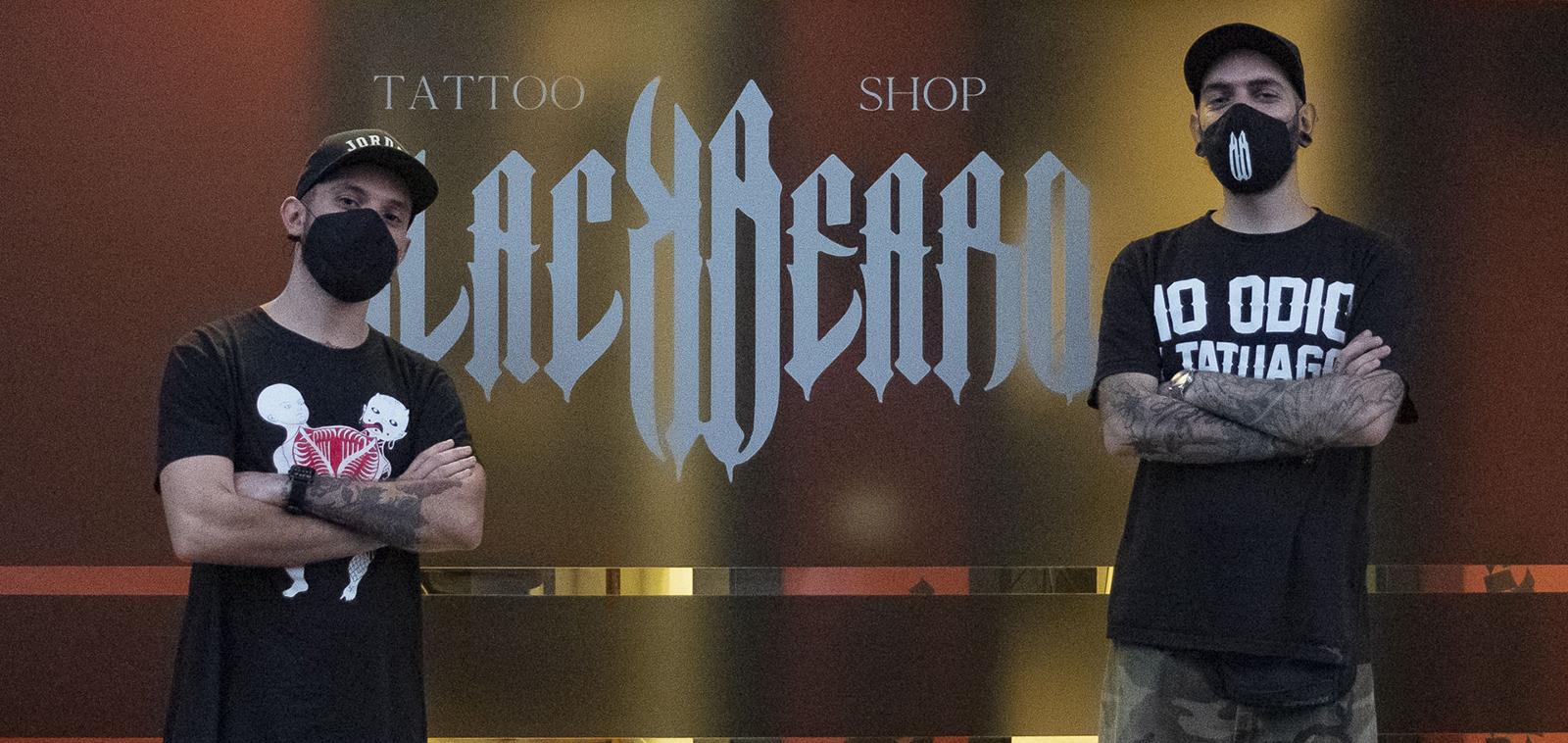 Black Beard Tattoo - copertina
