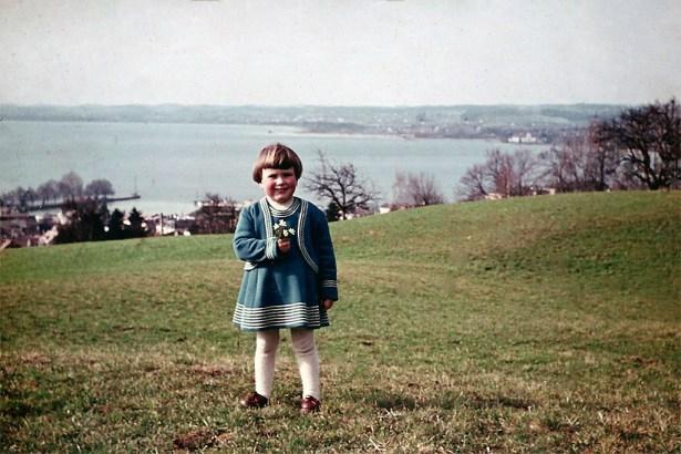 Mit 2 Jahren auf dem Gebhartsberg bei Bregenz