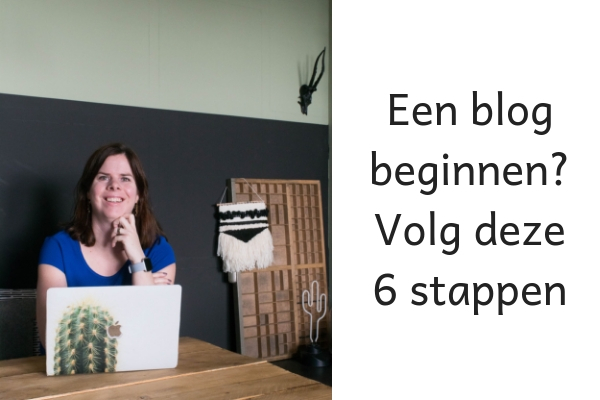 zo begin je een blog