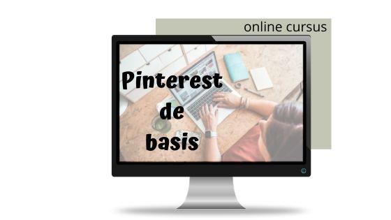 online cursus pinterest