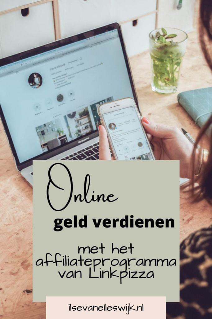 online geld verdienen met affiliateprogramma linkpizza