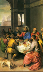 Tiziano, L'Ultima cena